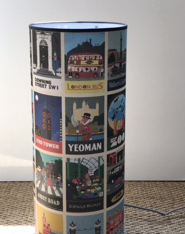 magasin luminaire lyon lampe totem decoration chambre enfant scenette anglaise londres london abbey road
