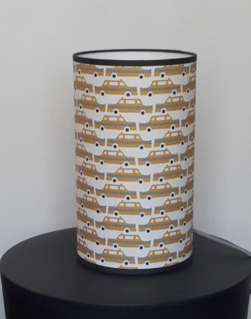magasin luminaire lyon lampe totem petit modèle chambre enfant garçon décoration taxi jaune moutarde New York
