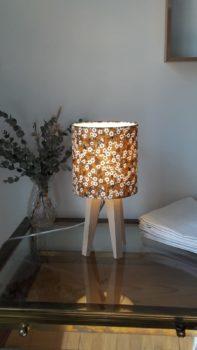 magasin luminaire lyon chambre chevet bureau abat jour decoration tissu liberty of london mitsi moutarde