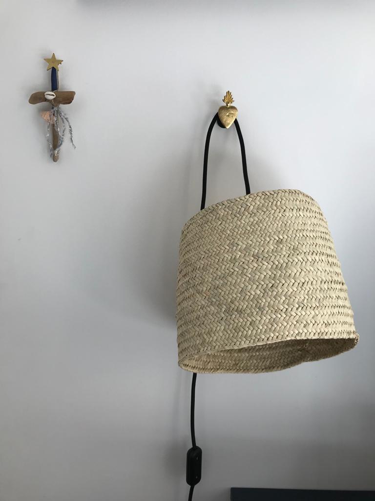 magasin luminaire lyon lampe baladeuse maison interieur osier naturel toukmou panier applique murale
