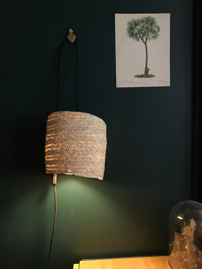 magasin luminaire lyon lampe baladeuse panier toukmou osier naturel applique murale decoration maison interieur