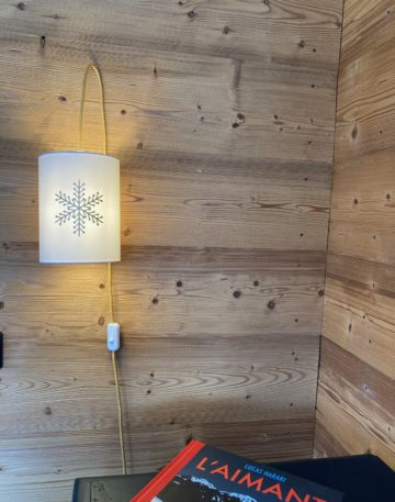 magasin luminaire lyon abat jour sur mesure lampe baladeuse suspension decoration interieur montagne chalet flocon