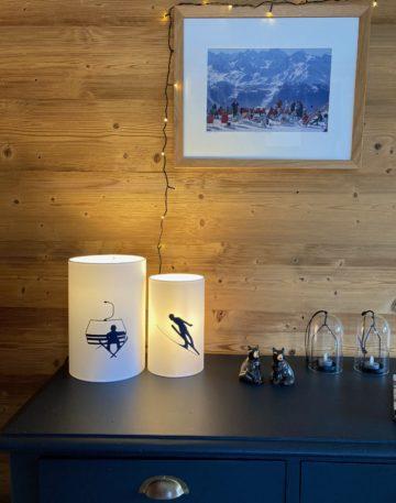 magasin luminaire lyon decoration interieur montagne chalet telesiege marine lampe chevet