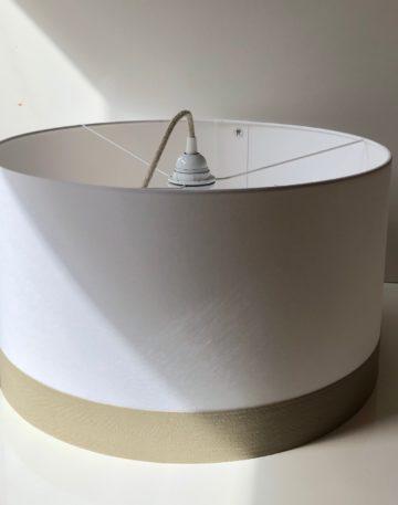 magasin luminaire lyon suspension abat jour sur mesure decoration intérieur salon blanche beige