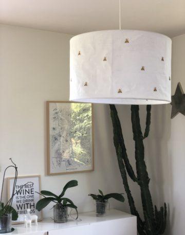 magasin luminaire lyon suspension lin empire abeille decoration interieur abat jour salon blanc